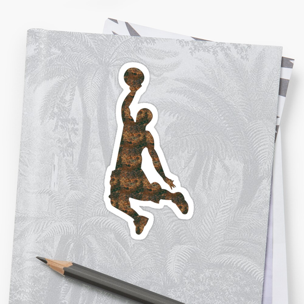 Rust Basketball Sticker by Soulrider