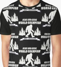Hide and Seek World Champion Dark Tee Graphic T-Shirt
