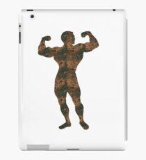Rust Bodybuilding Sticker iPad Case/Skin