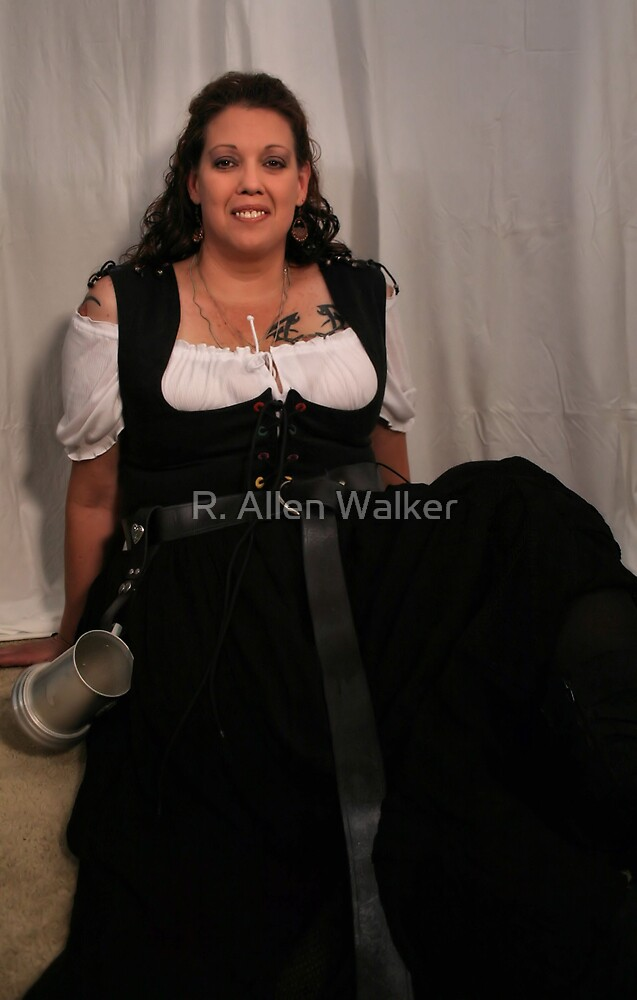 Barmaid... by R. Allen Walker