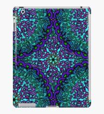 Mandala Filigree - Ocean Blue iPad Case/Skin