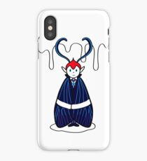 Mothboy Dracula iPhone Case