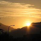 Soft Yellow Sunrise by aaronson24