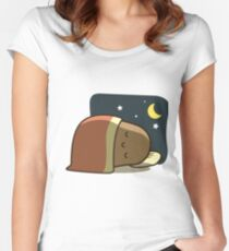 Sleeping Potato Women's Fitted Scoop T-Shirt