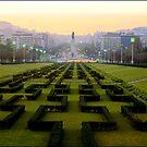 King Edward VII park, Lisbon, Portugal by chord0