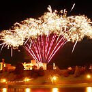 Mixture of Sulphur - Fireworks in Inverness Highland capital Scotland by John Kelly Photography (UK)