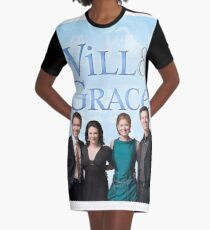 Will & Grace Graphic T-Shirt Dress