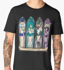 S.M. Crystal stained glass style Men's Premium T-Shirt