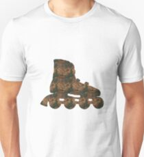 Rust Inline skate Sticker Unisex T-Shirt