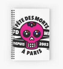 FÊTE DES MORTS À PARIS Cuaderno de espiral