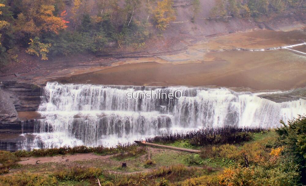 Waterfall wonder by sunshine0