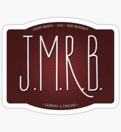 jmrb sticker Sticker