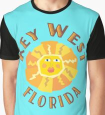 Key West Sun Graphic T-Shirt