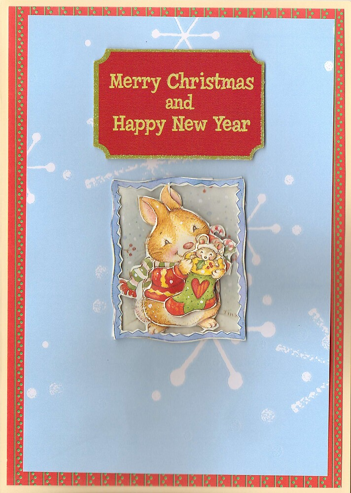 Christmas Card 4 by Alan Findlater