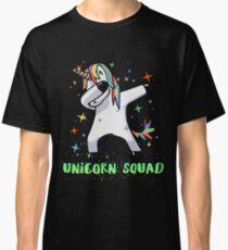 Dabbing Unicorn Squad Shirt! Myth, Dab, Dance, Magic & Fantasy  Classic T-Shirt