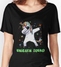 Dabbing Unicorn Squad Shirt! Myth, Dab, Dance, Magic & Fantasy  Women's Relaxed Fit T-Shirt
