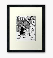 Old Wizard Framed Print