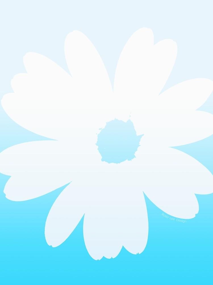 «Fleur bleue» par RosaLeeDesign
