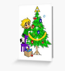 Hyrule Holiday Greeting Card