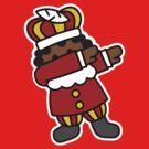 Zwarte Piet - Roetpiet Dab dabbing by LaundryFactory