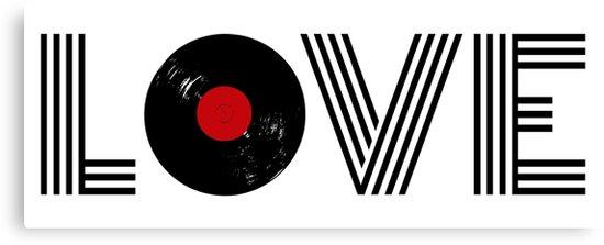 Vinyl record love by BattaAnastasia