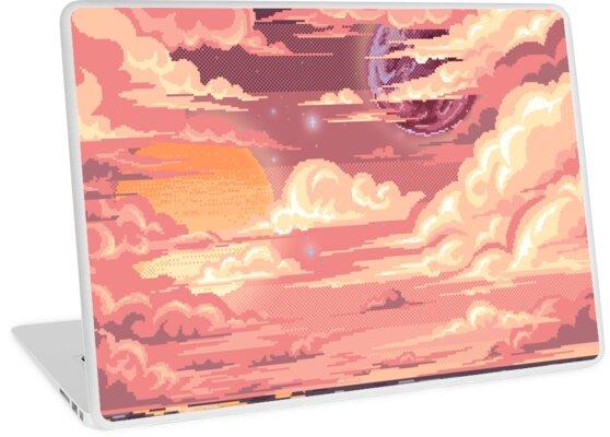 Pixel-Kunst der Dämmerung von Erienstrf