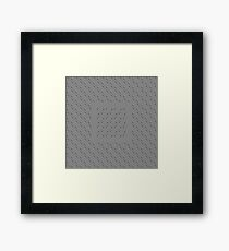 Optical effect Framed Print