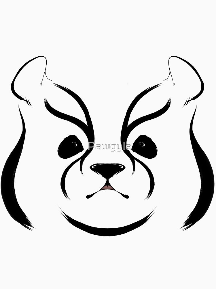Kabuki animal, Panda by Pawgyle