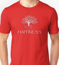 The Root of Happiness Unisex T-Shirt
