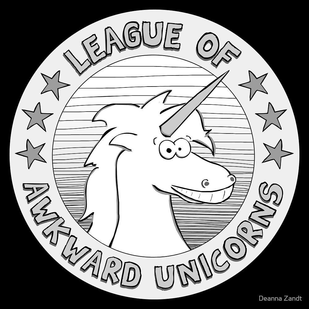 League of Awkward Unicorns by Deanna Zandt