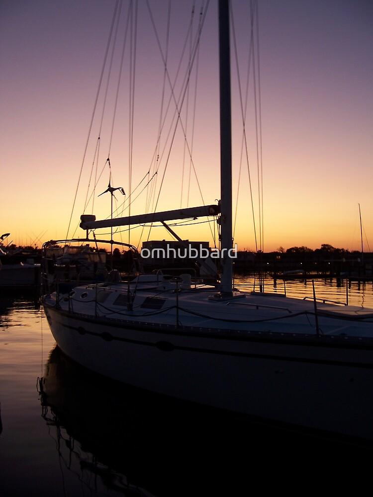 Sail at Dusk by omhubbard