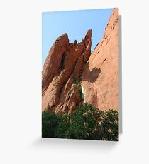 Parapet of North Gateway Rock, Garden of the Gods, Colorado Springs, CO 2007 Greeting Card