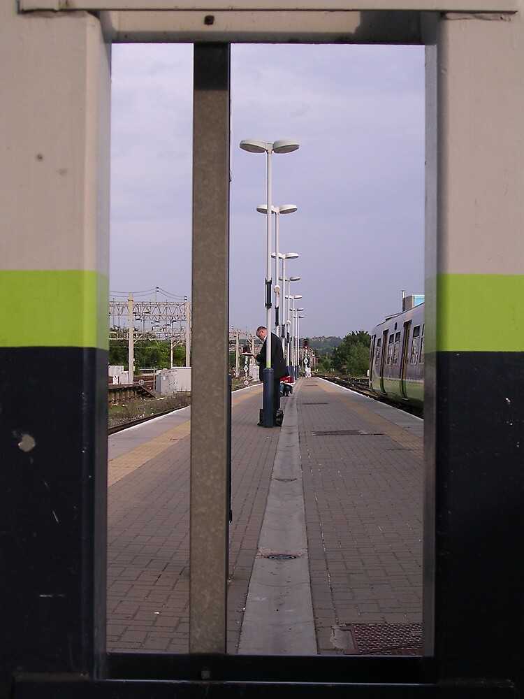 Loneliness of a long distance commuter by Terry Walker