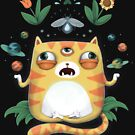 The All Knowing Cat by agrapedesign