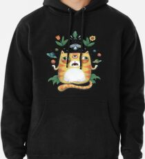 The All Knowing Cat Pullover Hoodie