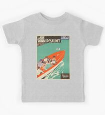 Vintage poster - Lake Winnipesaukee Kids Tee