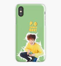 P.O, the candy boy - Block B iPhone Case/Skin