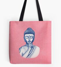 Shh ... do not disturb - Buddha  Tote Bag