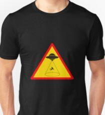 warning ! UFO Unisex T-Shirt