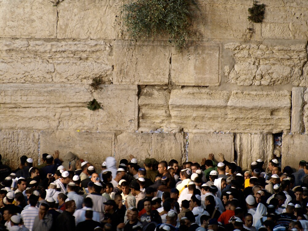 The western wall 1 by MichaelBr