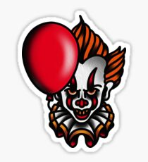 Traditional Pennywise the Dancing Clown Sticker