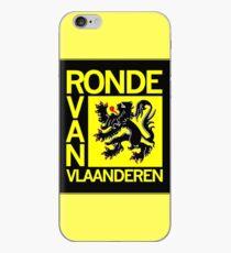 Vinilo o funda para iPhone Ronde Van Vlaanderen: impresión publicitaria de carreras de ciclismo vintage