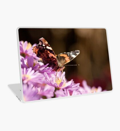 Autumn butterfly Laptop Skin