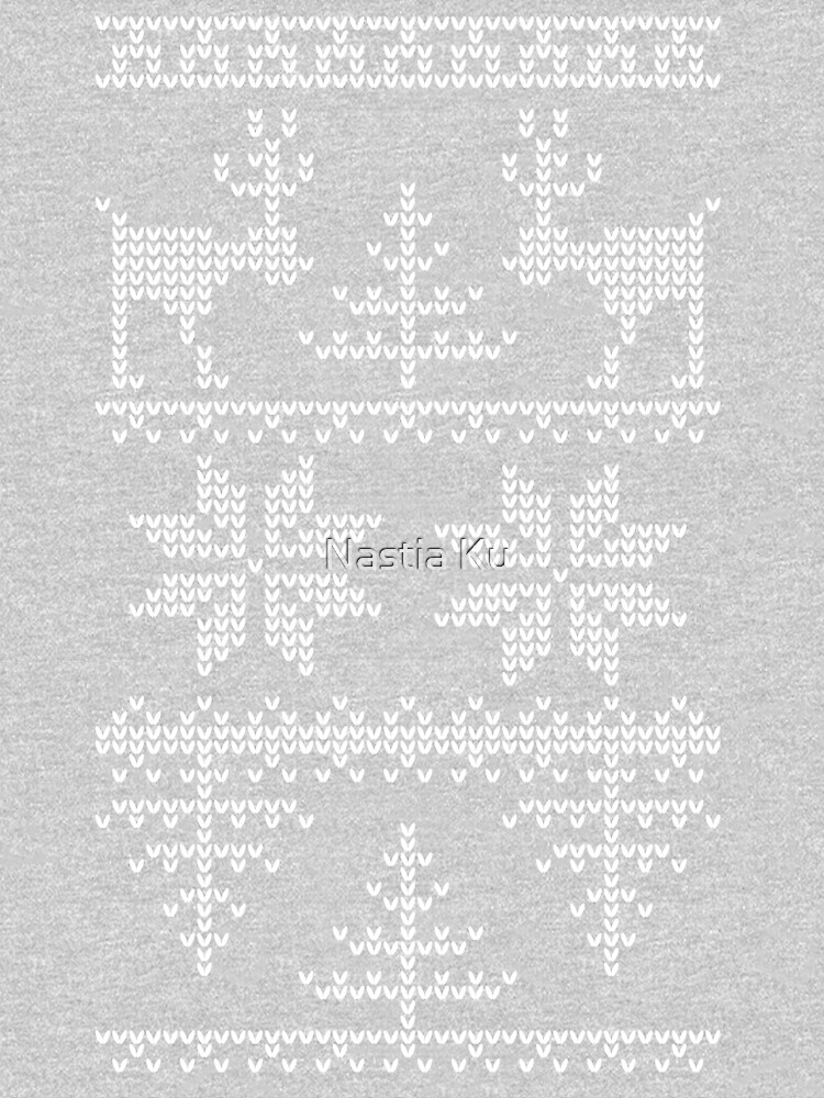 nordic knit pattern by ychty