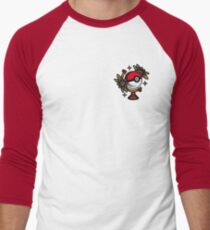 Traditional Pokeball Tattoo Piece Men's Baseball ¾ T-Shirt