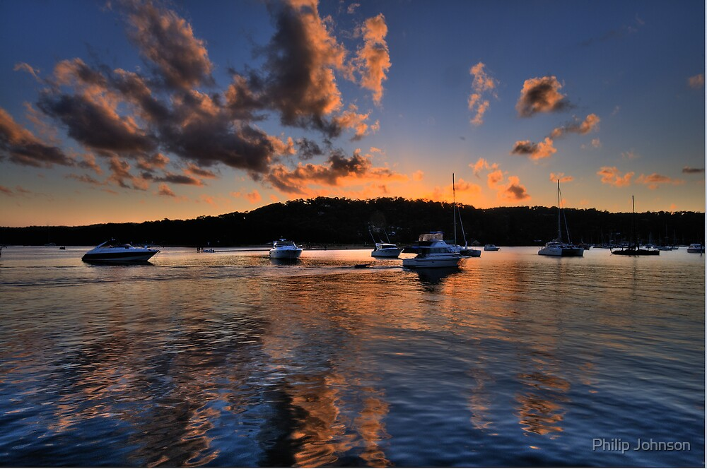 Reflections  In Time - Newport - The HDR Series by Philip Johnson