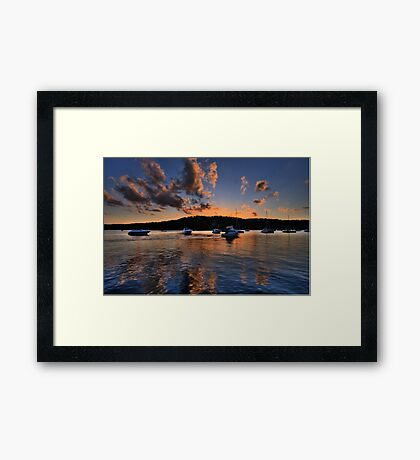 Reflections  In Time - Newport - The HDR Series Framed Print