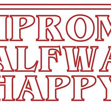 Halfway Happy by LisaDylanArt