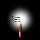 Freedom of speech lives on. by Alex Preiss