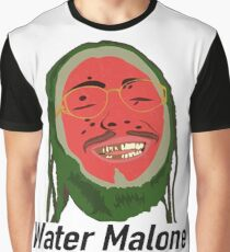 Water Malone / Post Malone Graphic T-Shirt